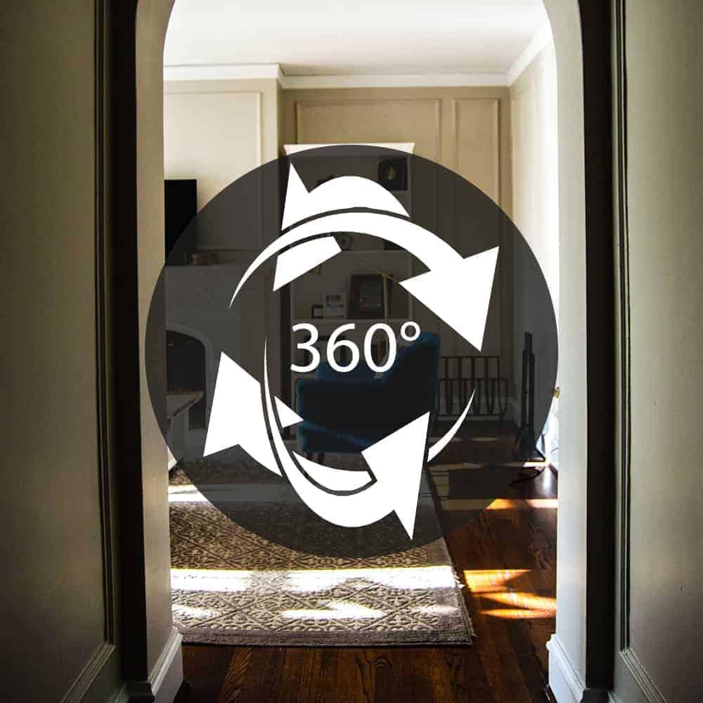 360 Grad Wohnungsansicht